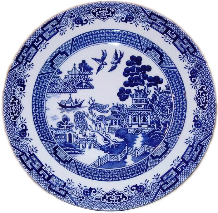 Willow Pattern Plates Browse Patterns