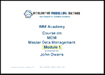 Click to preview a Multi-Dimensional MDM Training Course content