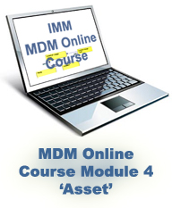 MDM Online Training Course: Module 4 – Asset