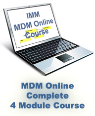 MDM Online Complete 4 Module Course