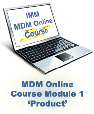 MDM Online Training Course: Module 1 – Product